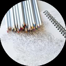 cours de coloriage anti-stress